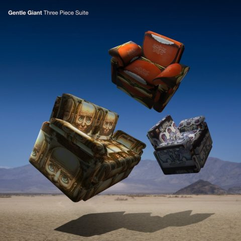 Gentle Giant / Three Piece Suite CD+Blu-ray combo