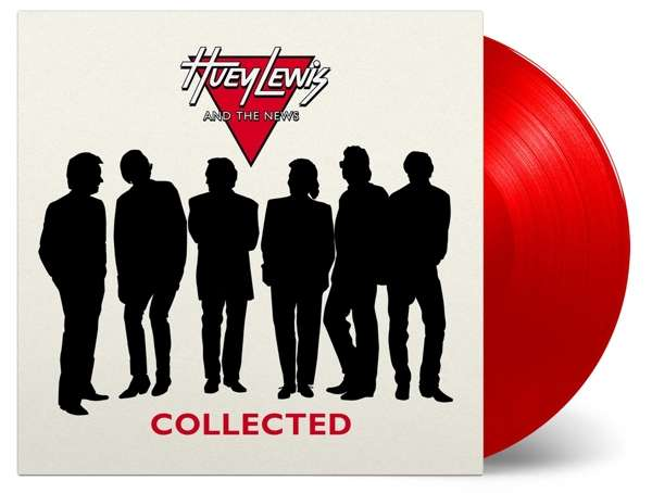 Huey Lewis and the News / Collected 2LP red vinyl
