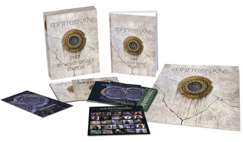 Whitesnake / 1987 - 30th anniversary super deluxe edition