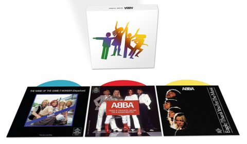 ABBA / The Album - The Singles / 40th anniversary seven-inch coloured vinyl box set