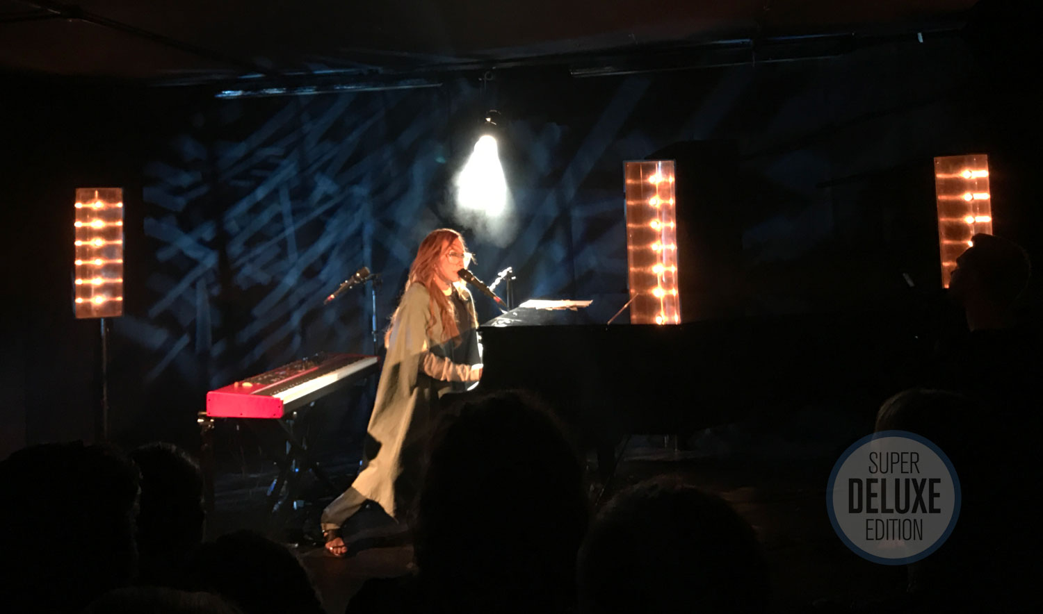 Tori Amos plays at the Native Invader album launch