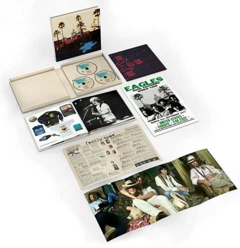 The Eagles / Hotel California 40th anniversary super deluxe edition box set