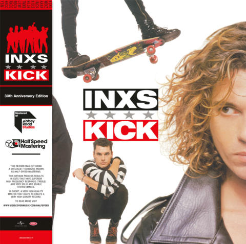 INXS / Kick 30 2LP half-speed mastered vinyl