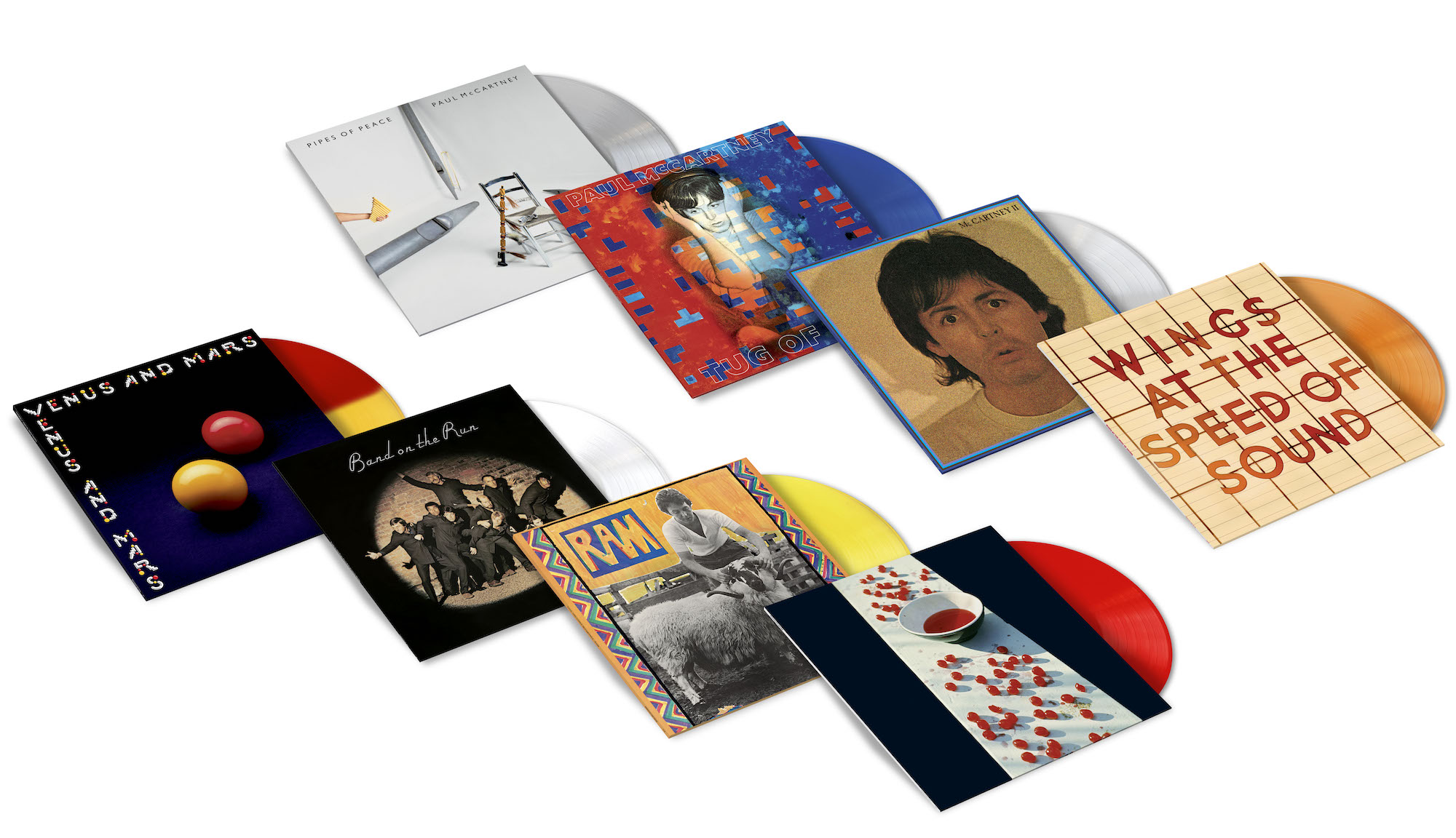 Paul McCartney Archive Collection / Limited edition 180g coloured vinyl pressings