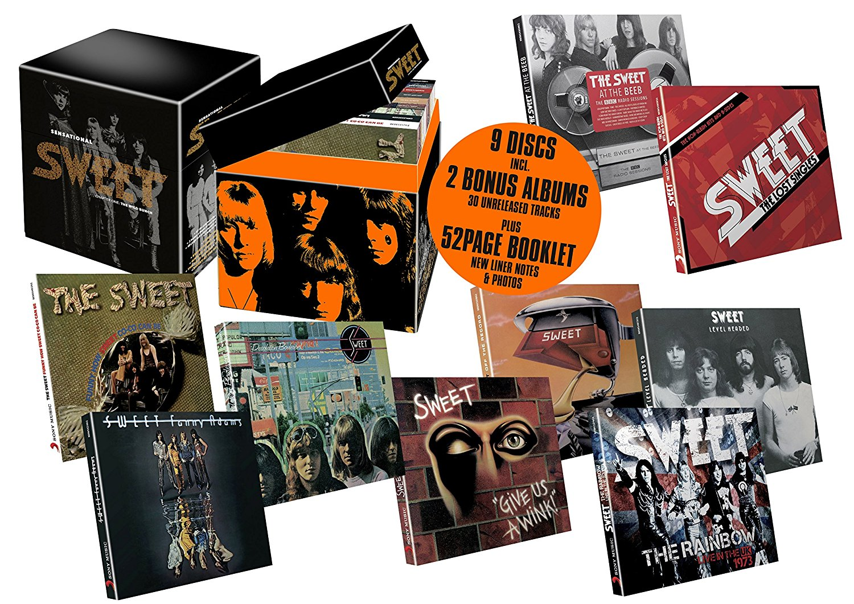 Sensational Sweet: Chapter One: The Wild Bunch - 9CD box set