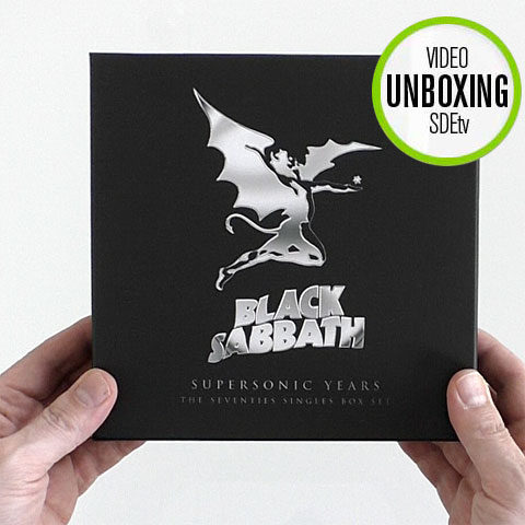 Black Sabbath / Supersonic: The Seventies Singles Box Set - unboxed