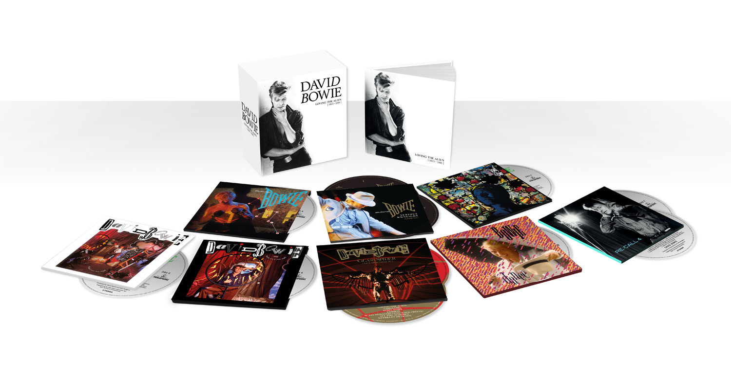 David Bowie / Loving The Alien 1983-1988 11CD box set