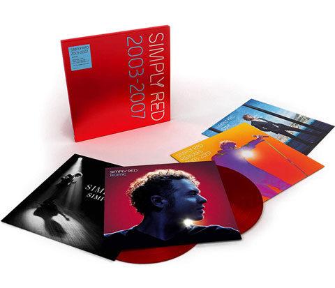 Simply Red 2003-2007 / 4LP vinyl box set