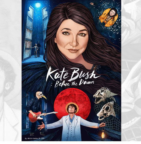 SDE presents Kate Bush: Before The Dawn 'keepsake' A4 booklet