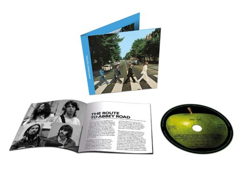 The Beatles / Abbey Road 50th anniversary single CD