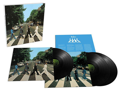 The Beatles / Abbey Road 50th anniversary 3LP vinyl box set