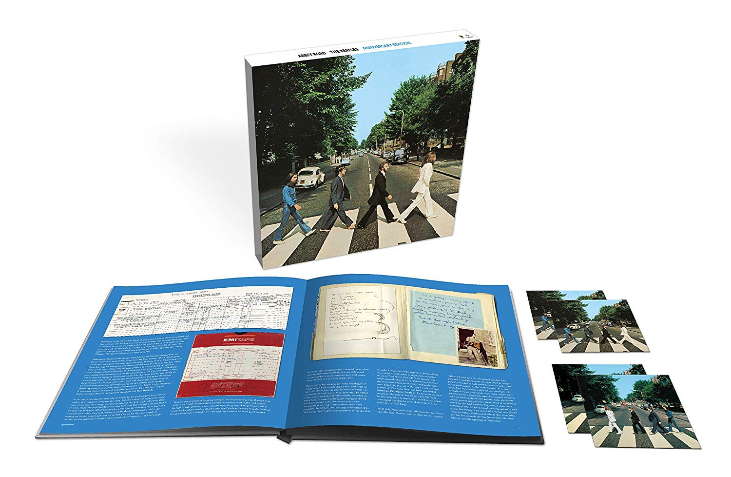 The Beatles / Abbey Road 50th anniversary edition 3CD+Blu-ray box set