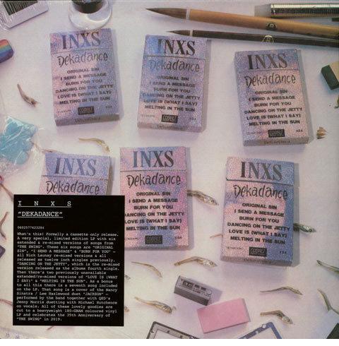 INXS / Dekadance vinyl LP