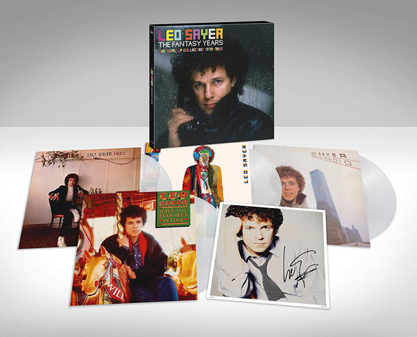 Leo Sayer / Leo Sayer / The Fantasy Years 4LP signed vinyl box set