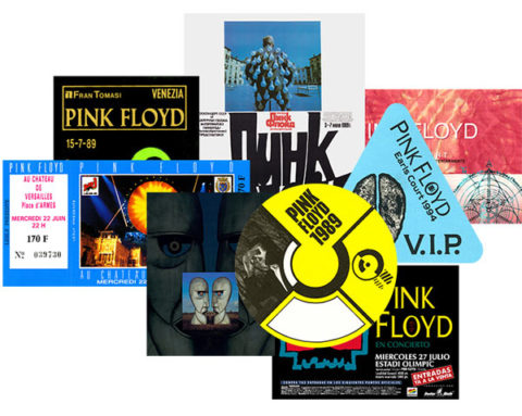 Pink Floyd / The Later Years 1987-2019 memorabilia