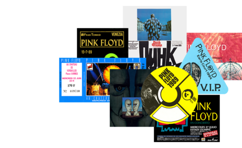 Pink Floyd / The Later Years 1987-2019 - memorabilia