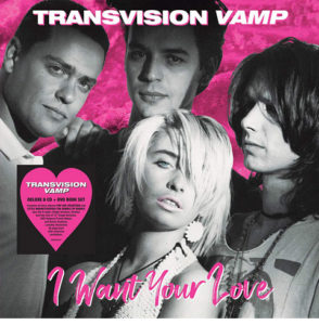 Transvision Vamp / I Want Your Love 6CD+DVD deluxe set with signed print