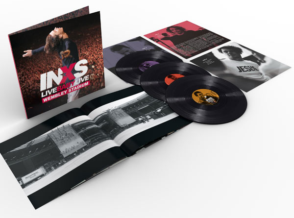 INXS / Live Baby Live Wembley Stadium 3LP vinyl