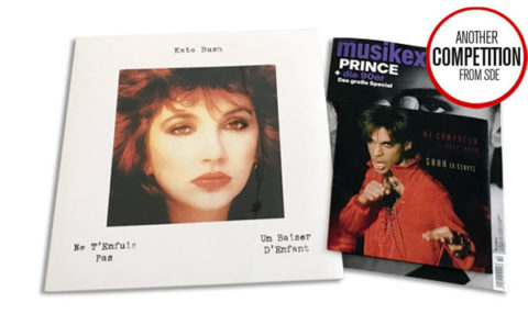 Win Kate Bush rare vinyl