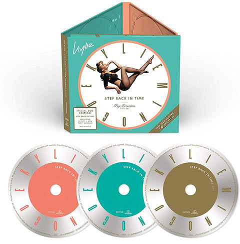 Kylie Minogue / Step Back In Time 3CD set