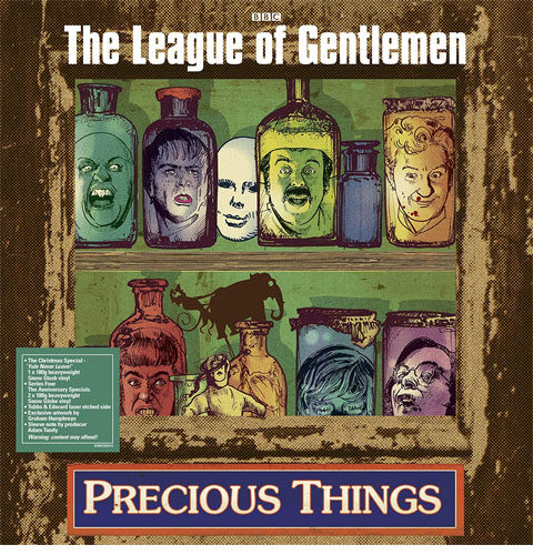 The League of Gentlemen / Precious Things vinyl box set