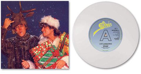 Wham! / Last Christmas white vinyl LP