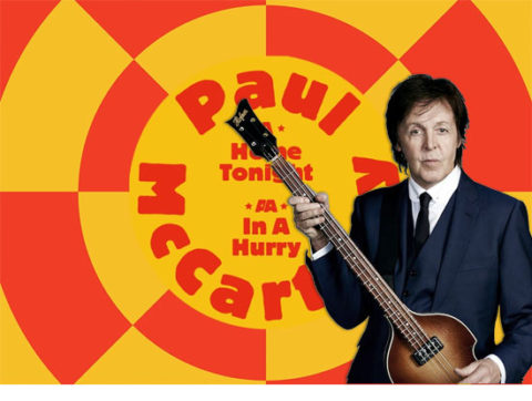 Listen to Paul McCartney's Home Tonight and In A Hurry