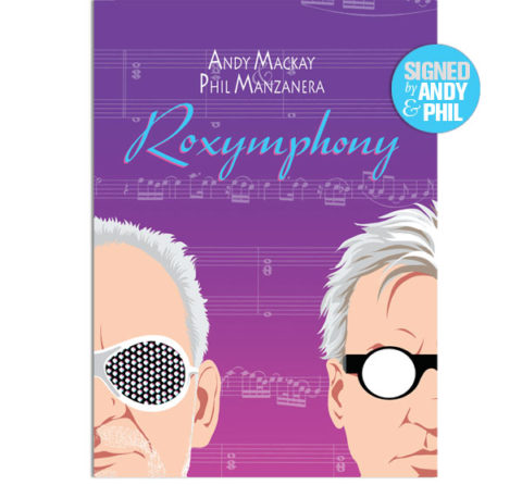Andy MacKay & Phil Manzanera / Roxymphony CD+DVD deluxe edition