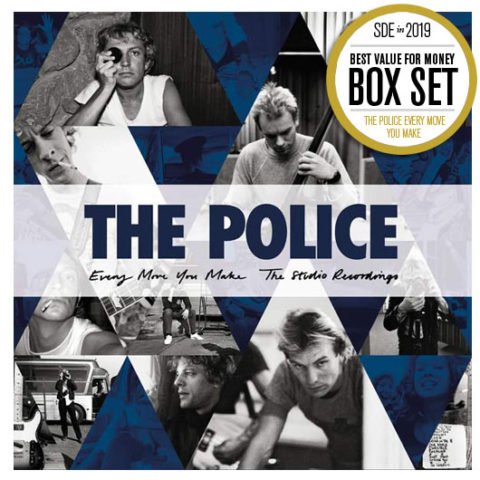 SDE's Best Reissues of 2019. BEST VALUE BOX SET: The Police / 'Every Move You Make: The Studio Recordings' 6CD (Universal Music)