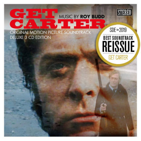 SDE's Best Reissues of 2019. BEST SOUNDTRACK REISSUE 2019: 'Get Carter' 3CD deluxe (Cherry Red)