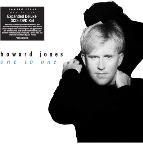Howard Jones / One to One 3CD+DVD reissue