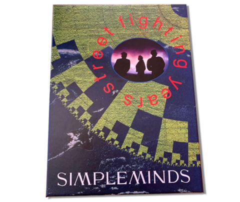 Simple Minds / Street Fighting Years box set