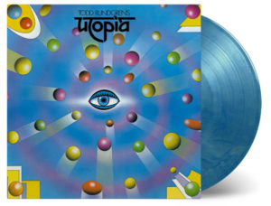 Todd Rundgren's Utopia coloured vinyl pressing