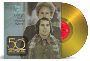 Simon & Garfunkel / Bridge Over Troubled Water 50th anniversary gold vinyl