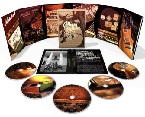 The Allman Brothers Band / Trouble No More 5CD box set
