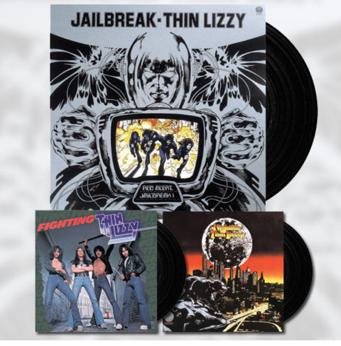 Thin Lizzy / Vinyl reissues
