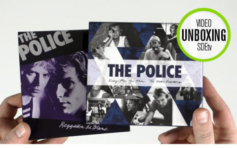 The Police / Every Move You Make: The Studio Recordings 6CD unboxing video