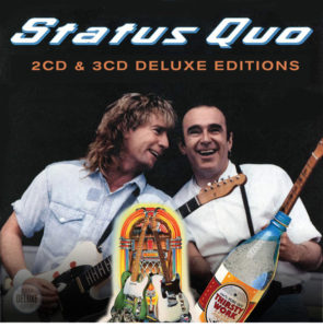 Status Quo / Perfect Remedy, Rock 'Til You Drop and Thirsty Work new CD deluxe editions