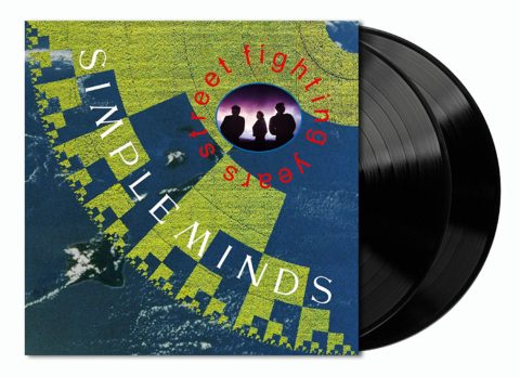 Simple Minds / Street Fighting Years 2LP vinyl reissue
