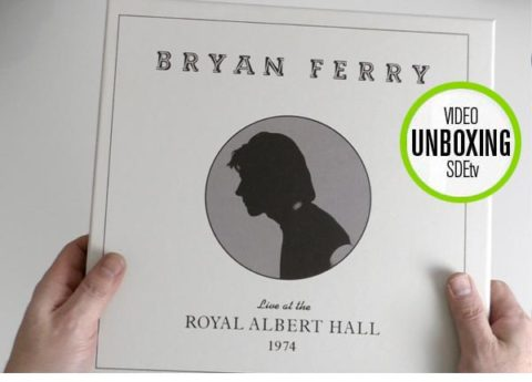 Bryan Ferry / Live at the Royal Albert Hall 1974 unboxing video