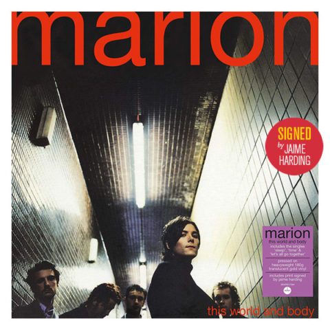 Marion / This World and Body signed vinyl