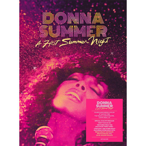 Donna Summer / A Hot Summer Night reissue