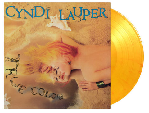 Cyndi Lauper / True Colors coloured vinyl