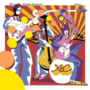 XTC / Oranges and Lemons 2LP vinyl