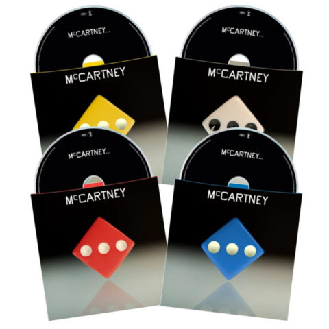 Paul McCartney / McCartney III coloured CDs