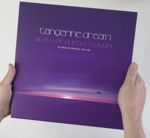 Tangerine Dream / Pilots of Purple Twilight unboxing video
