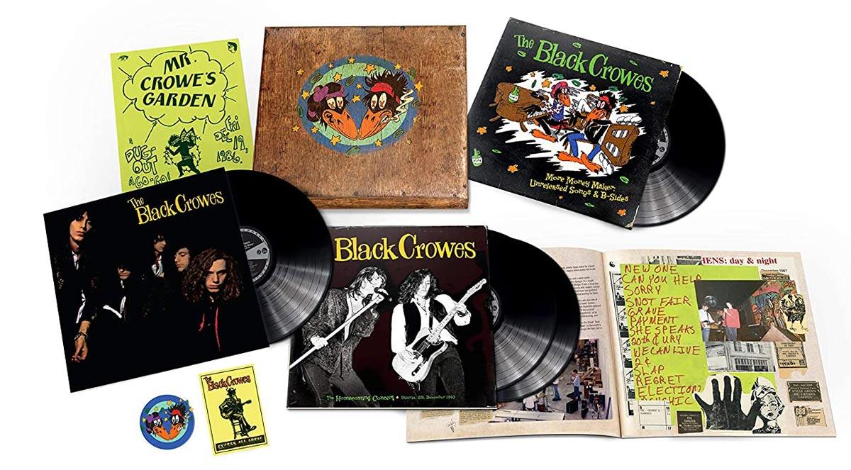 The Black Crowes / Shake Your Money Maker 4LP vinyl super deluxe box set