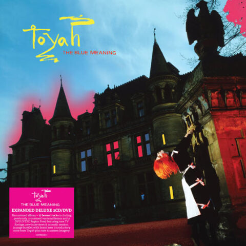 Toyah / The Blue Meaning reissue limited edition neon pink vinyl LP